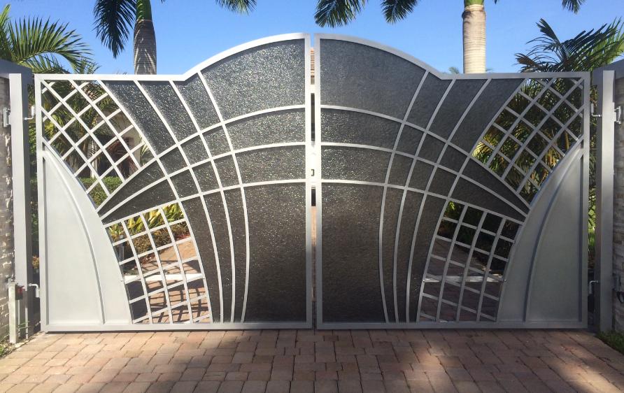 Original custom iron gates for driveways